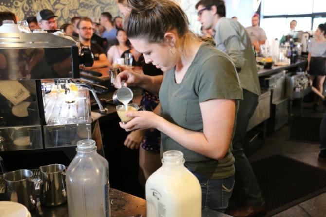 Reverie Latte Art Competition