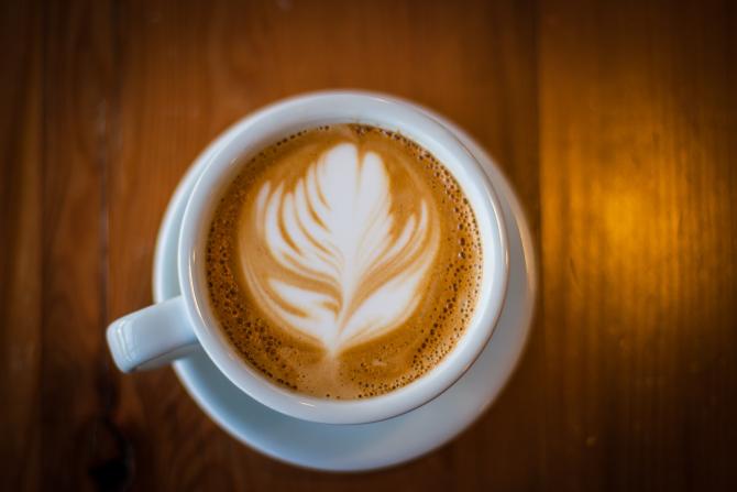 Fairmount Coffee Shop Latte Art