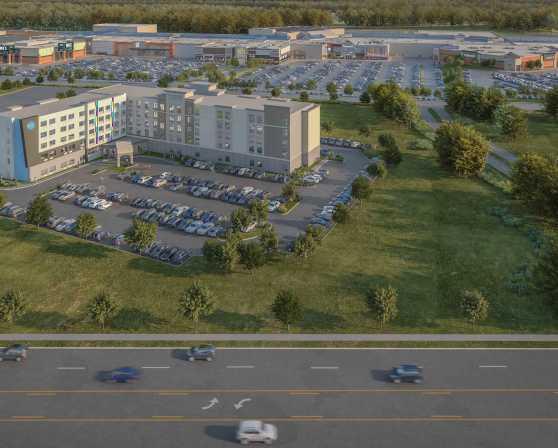 Crossgates Hotel Construction Mock Up