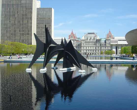 Empire State Plaza Art