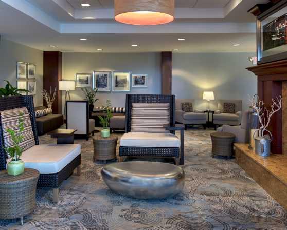 Hilton Garden Inn Albany Medical Center Fireside Lounge