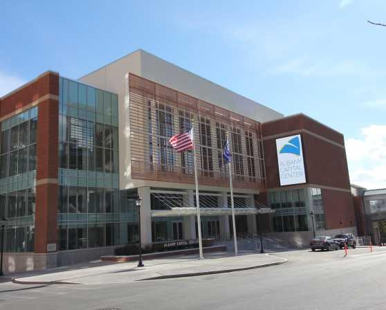 Albany Capital Center - Main Entrance