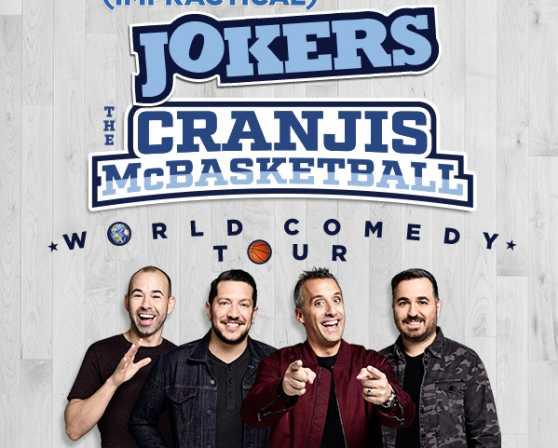 Trutv impractical jokers the cranjis mcbasketball world comedy tour trutv impractical jokers the cranjis mcbasketball world comedy tour starring the tenderloins m4hsunfo