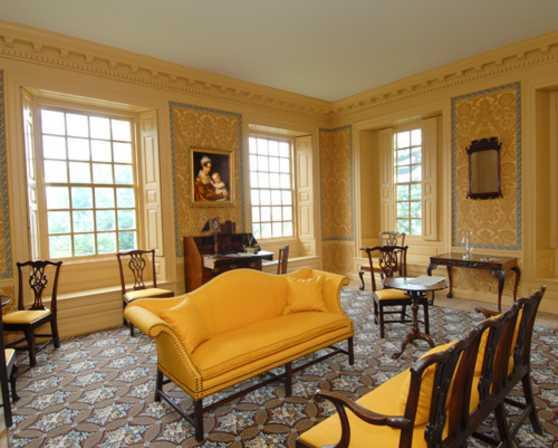 Interio Schuyler Mansion