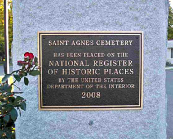 Historic St. Agnes Cemetery