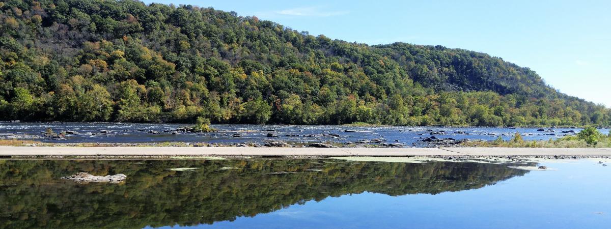Delaware River view