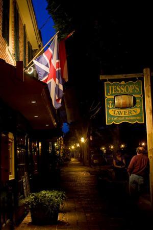 Jessop's Tavern, Historic New Castle, Delaware