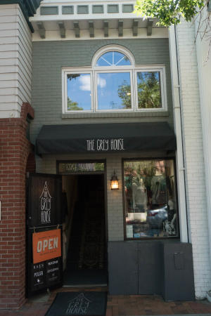 Grey House Store Front