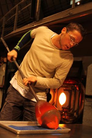 The Hot Shop in the Museum of Glass in Tacoma, Washington