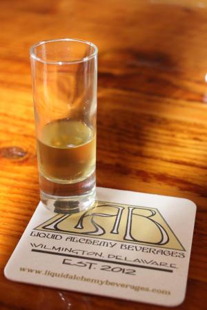 Liquid Alchemy Tasting Glass