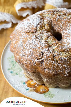 Cranberry Walnut Cake #Recipe | ExploreAsheville.com