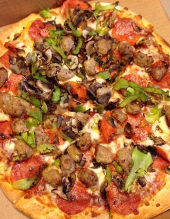 Pizza at Rotolo's Pizzeria