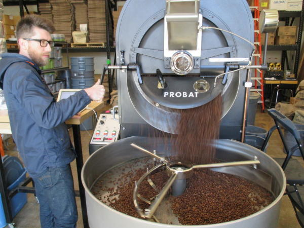 Madcap Coffee Roasting Process