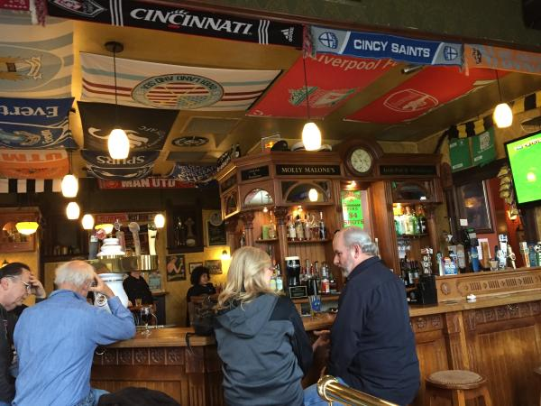 Molly Malone's Interior