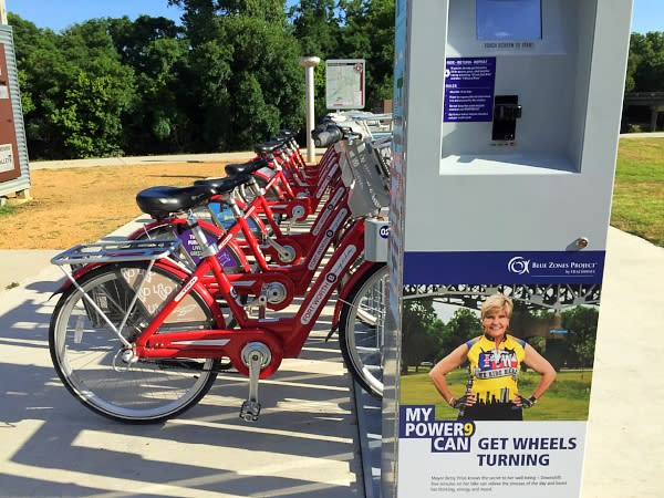 Bike Share on Trails