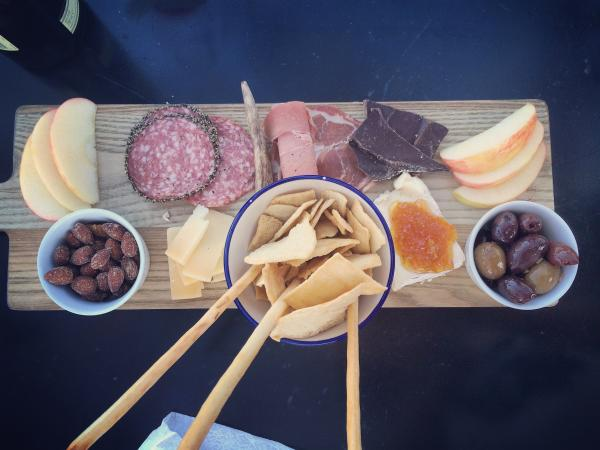 Cheese board at Prost Wine Bar