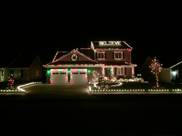 Canonero Lane Christmas Lights Display - Fort Wayne, IN