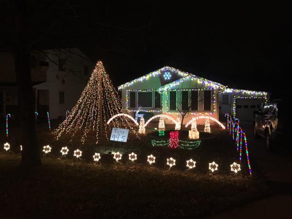 Best Christmas Lights Display - Nordholme Avenue