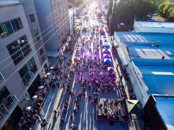 R Street Block Party Sacramento