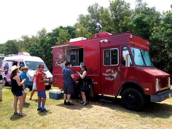 Truck at Hill Country Food Truck Festival