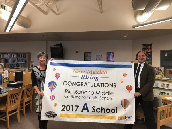 Congratulations Rio Rancho Middle School