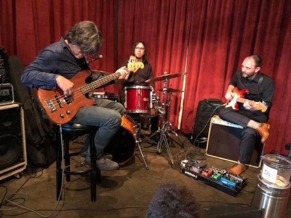 Band playing at Hi Hat