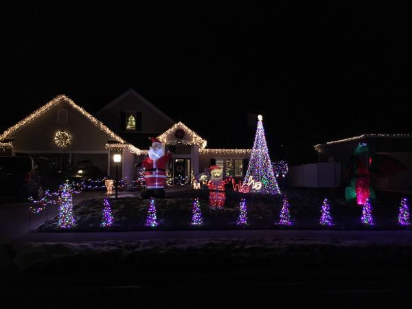 7317 holden drive best christmas light displays east fort wayne
