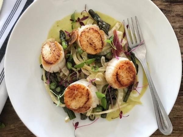 Collection Surf House scallop dish