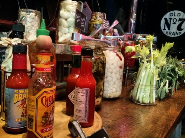 JD Daniels Bloody Mary Ingredients