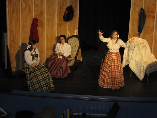 Dramatic performance of Little Women