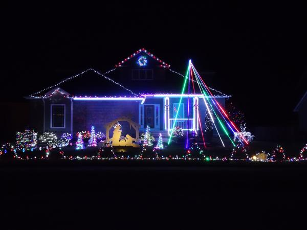 1312 Monte Carlo Drive - Best Christmas Lights Display - NORTH