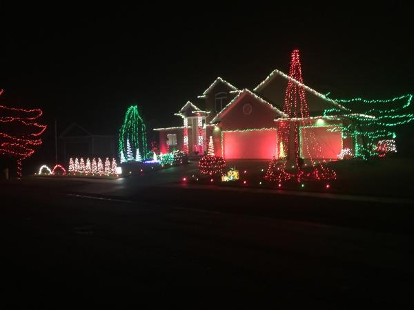 Best Christmas Lights Display at 12215 Bufflehead Run in Fort Wayne, Indiana
