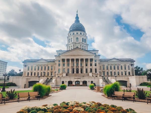 Kansas State Capitol | Rebekah Baughman Topeka, KS