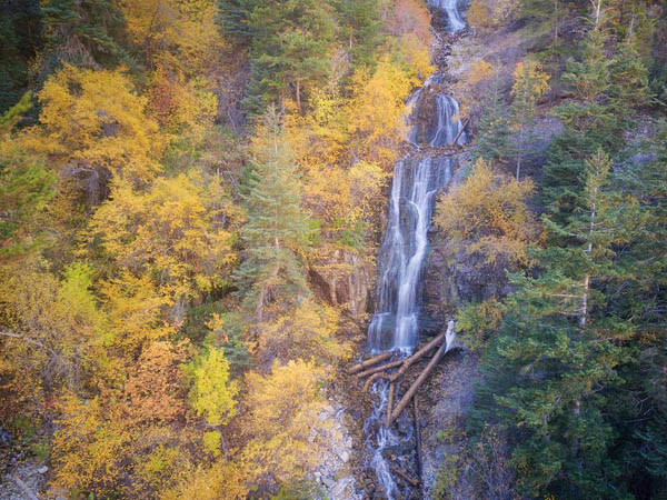 10 Waterfalls in Utah Valley that Will Take Your Breath Away - Upper Falls