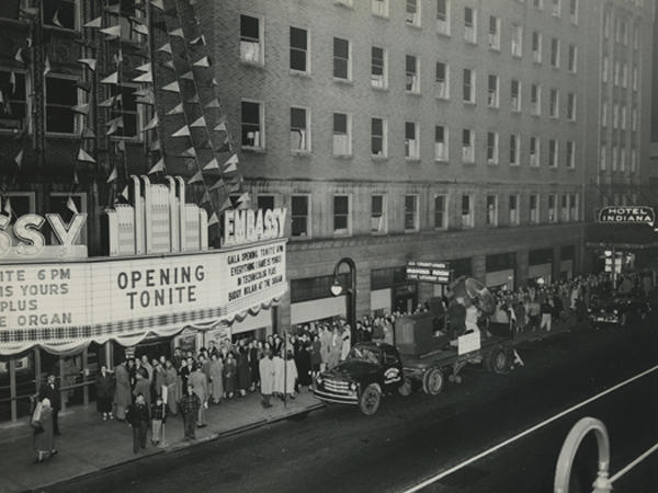 Historic Picture of the Embassy in downtown Fort Wayne, IN