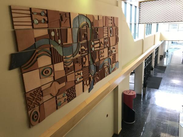 Grand Wayne Convention Center - Wood Art Piece - Fort Wayne, IN