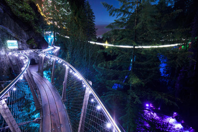 Canyon Lights at Capilano Suspension Bridge Park