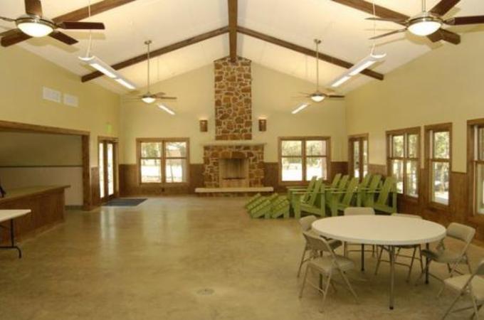 Osprey Point Hall Interior