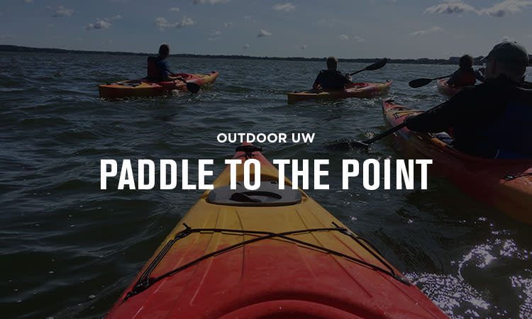 Outdoor UW Paddle to the Point Essential Madison Experience