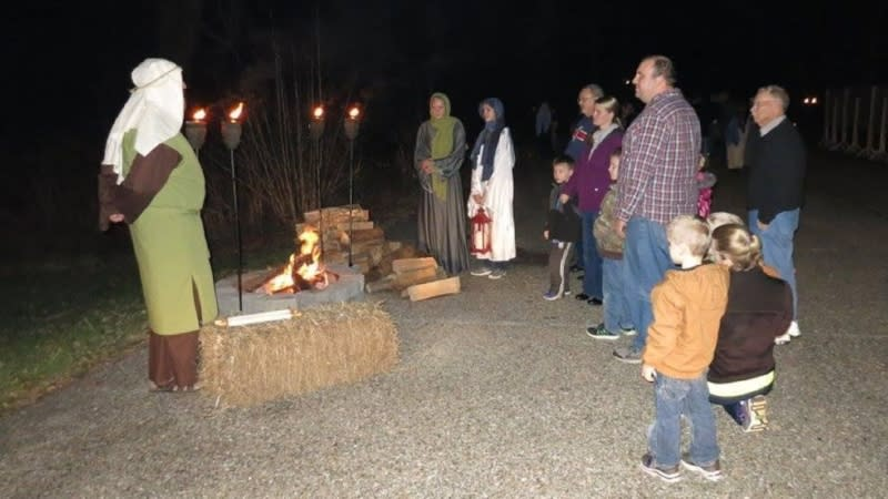 Experience the first Christmas at the annual Bethlehem Walk.