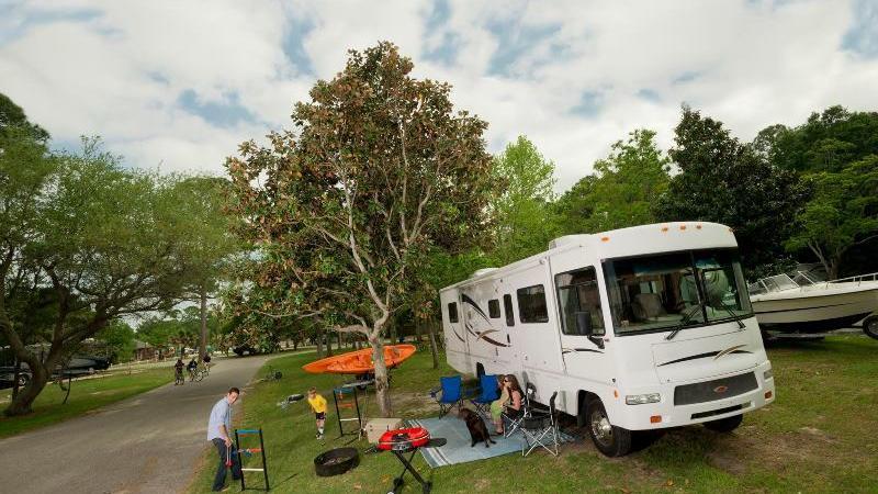 Dauphin Island Campground