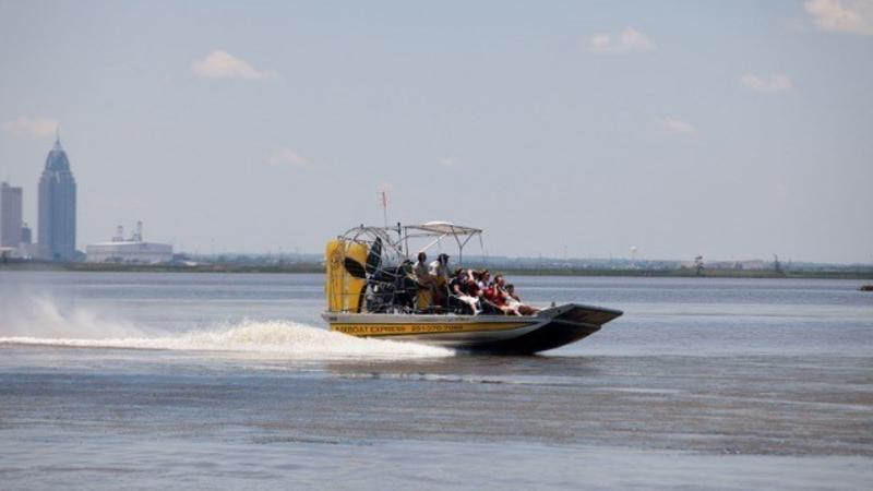 airboat test