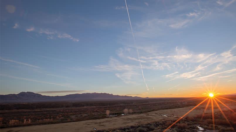 Sunset in Mesquite
