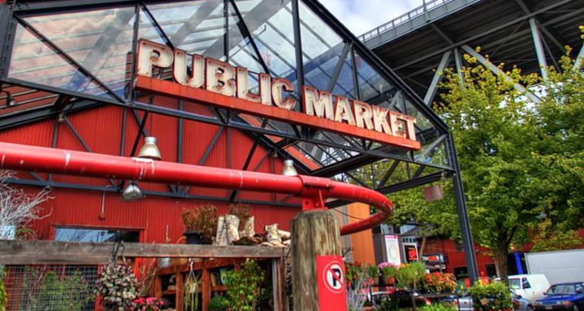 Granville Island Public Market Exterior