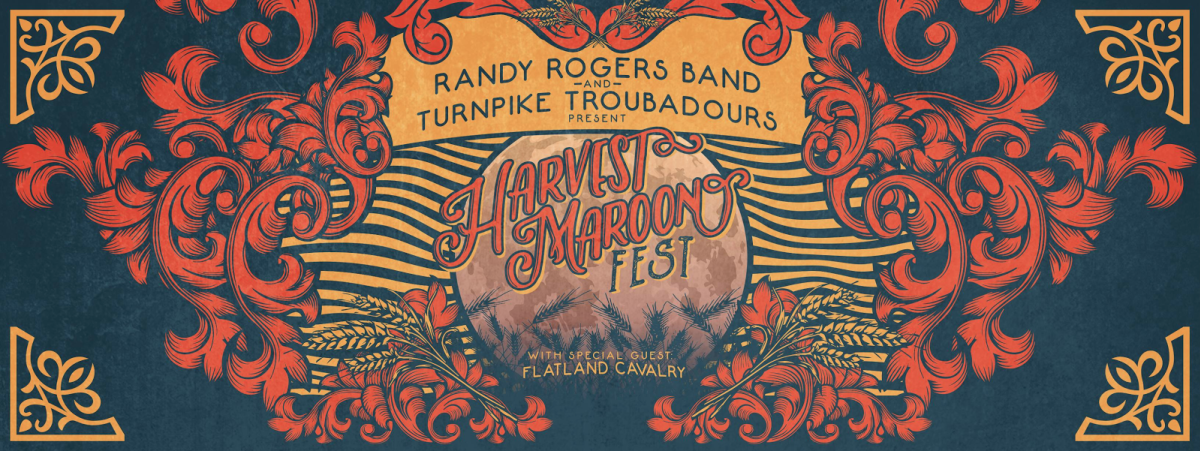 Harvest Maroon Fest in College Station banner