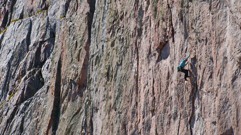 Quinn Brett Climbing