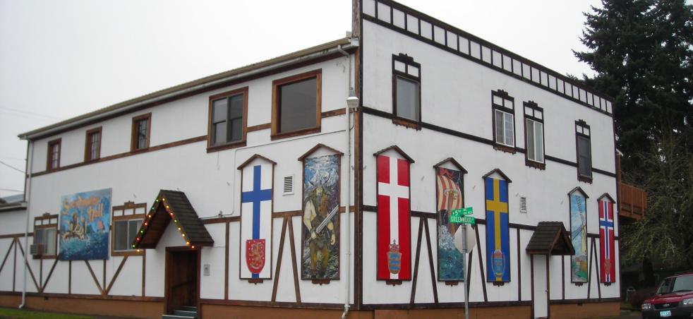 Scandinavian Hall In Junction City By Cari Garrigus