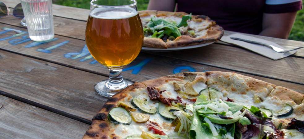 Agrarian Ales Brewing Company Pizza And Beer