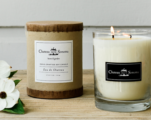 Candle from Chateau Sonoma