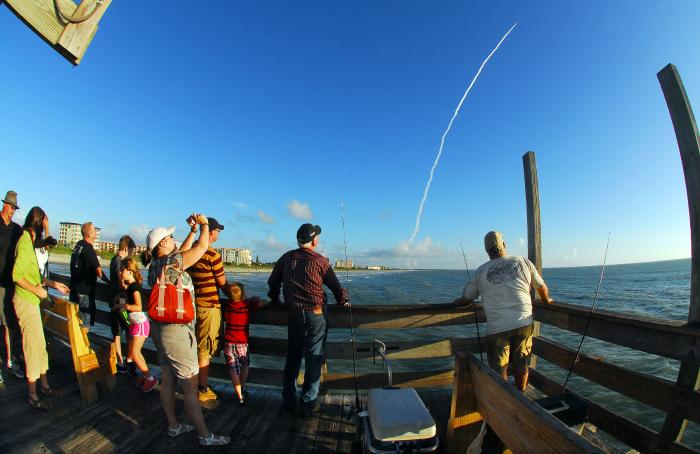 Rocket Launch from the Cocoa Beach Pier